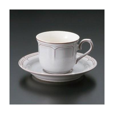 ☆ コーヒーカップ ☆ラフィネ スモークホワイトコーヒーC/S [ 11 x 8.3 x 6.6cm (170cc) 332g ] 【 カフェ レストラン 洋食器 飲食店 業務用 】