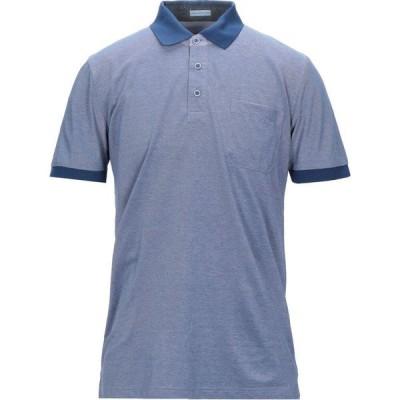 ハーマン & サンズ HERMAN & SONS メンズ ポロシャツ トップス Polo Shirt Blue