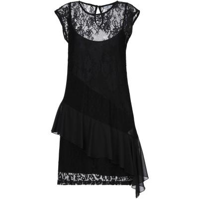 リュー ジョー LIU •JO ミニワンピース&ドレス ブラック 40 ナイロン 100% / ポリウレタン ミニワンピース&ドレス