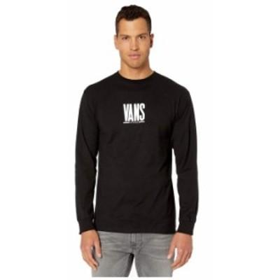 バンズ メンズ シャツ トップス Check Stack Long Sleeve T-Shirt Black