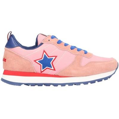 インヴィクタ INVICTA スニーカー&テニスシューズ(ローカット) ピンク 36 革 / 紡績繊維 スニーカー&テニスシューズ(ローカット)