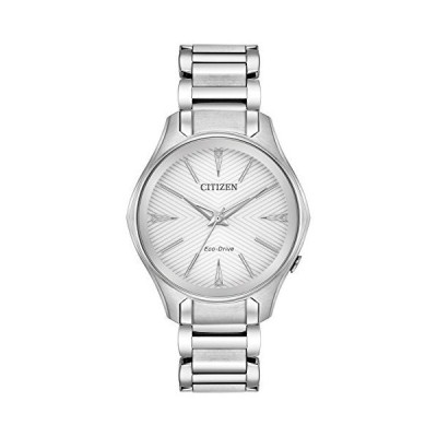 Citizen Watches Women's EM0590-54A Eco-Drive Silver One Size