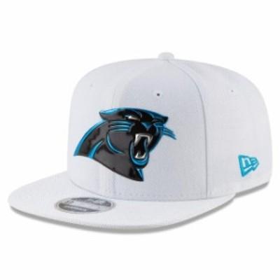 New Era ニュー エラ スポーツ用品  New Era Carolina Panthers White Kickoff Baycik 9FIFTY Snapback Adjustable Hat
