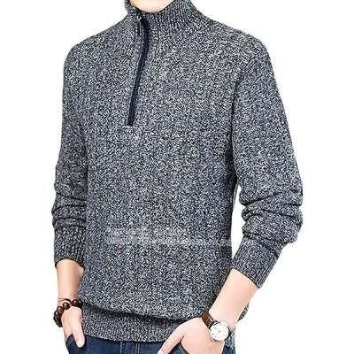 vネック セーター 裏起毛 暖かい 厚手 トップス ビジネス ゴルフ 部屋着 大人 シンプル 冬 メンズ