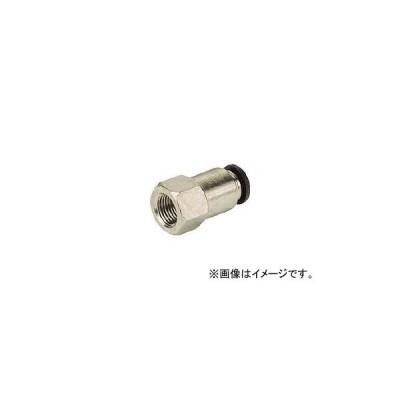 ピスコ チューブフィッティング メスストレート PCF4-02(8095181)