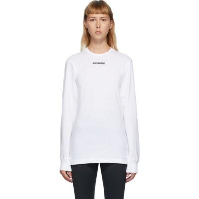 オフホワイト Off-White レディース Tシャツ トップス White Marker T-Shirt White/Red