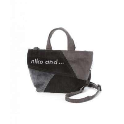 niko and... / コーデュロイニコロゴショルダーバッグ WOMEN バッグ > ショルダーバッグ