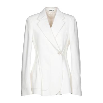 メゾン マルジェラ MAISON MARGIELA テーラードジャケット ホワイト 40 コットン 100% テーラードジャケット