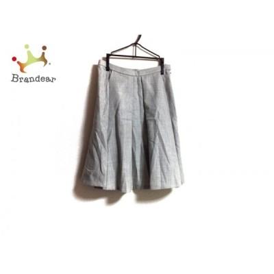 トゥモローランド TOMORROWLAND スカート サイズ32 XS レディース グレー       スペシャル特価 20201005