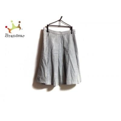 トゥモローランド TOMORROWLAND スカート サイズ32 XS レディース グレー     スペシャル特価 20200510