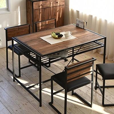 ダイニングテーブル 単体 天然木 モザイク 木製テーブル リビングテーブル キッチン テーブル シンプル モダン インテリア ウッド 木 北欧 おしゃれ