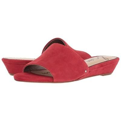 サム エデルマン Liliana レディース ヒール パンプス Red Suede Leather