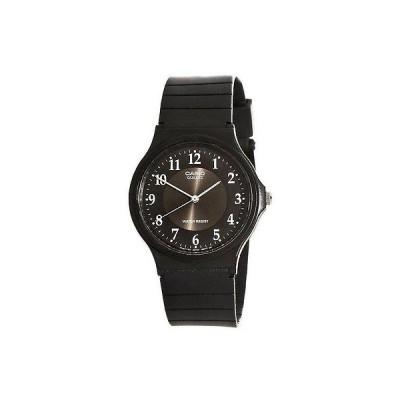 カシオ MQ24 レジン バンド ブラック ダイヤル カジュアル アナログ メンズ 腕時計