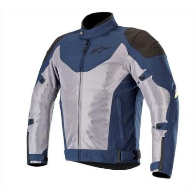 alpinestars(アルパインスターズ)バイクジャケット ネイビー/グレー/イエローフロー (サイズ:M) BAYSHORE(ベイショアー)AIR