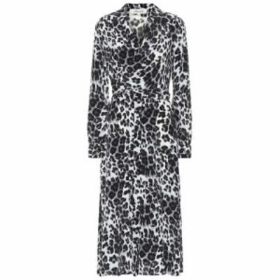 ダイアン フォン ファステンバーグ Diane von Furstenberg レディース ワンピース ミドル丈 Donika printed silk midi dress heritage sn