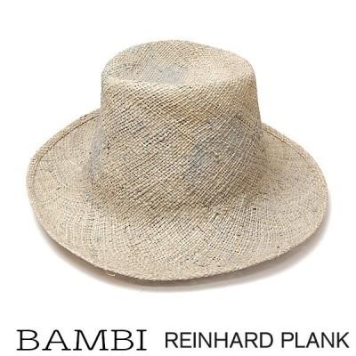 帽子 イタリア REINHARD PLANK(レナード プランク) ストローハット BAMBI ハット アウトレットSS20