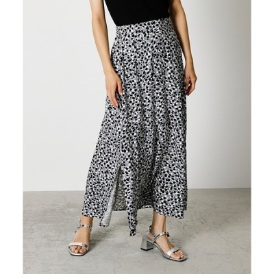 スカート DOTS LEOPARD NARROW SKIRT/ドッツレオパードナロースカート
