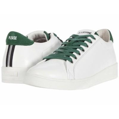 ブラックストーン スニーカー シューズ レディース Low Sneaker Gum Bottom - RL84 White Greener Pastures