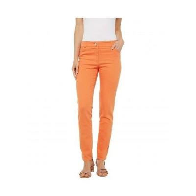 Elliott Lauren レディース 女性用 ファッション ジーンズ デニム Stretch Denim Five-Pocket Jeans in Orange - Orange
