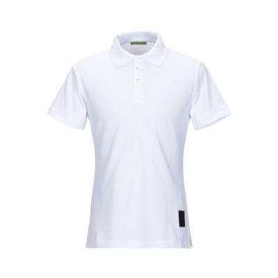VERSACE JEANS ポロシャツ ホワイト 50 コットン 100% ポロシャツ