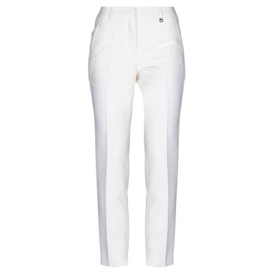 サルヴァトーレ フェラガモ SALVATORE FERRAGAMO パンツ ホワイト 40 バージンウール 100% パンツ