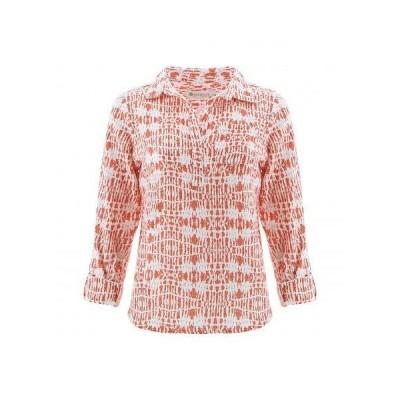 Aventura Clothing アヴェンチュラクロージング レディース 女性用 ファッション ポロシャツ Railey Top - Coral