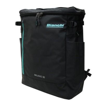 Bianchi ビアンキ ポリエステル(PVCコーティング)+抗菌ポケット ビジネスリュック スクエアリュック TBPM-04 メンズ