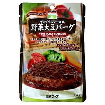 【三育フーズ】  デミグラスソース風野菜大豆バーグ  100g ◎お取り寄せ商品