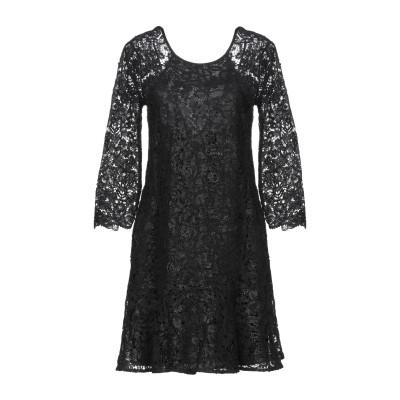 パトリティア ペペ セーラ PATRIZIA PEPE SERA ミニワンピース&ドレス ブラック 38 コットン 100% ミニワンピース&ドレス