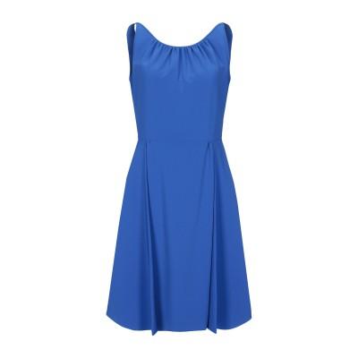 モスキーノ MOSCHINO ミニワンピース&ドレス ブライトブルー 42 64% トリアセテート 36% ポリエステル ミニワンピース&ドレス