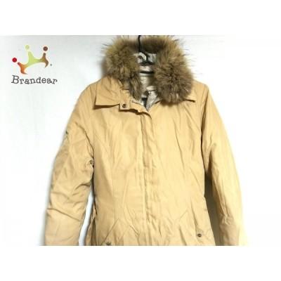アイシービー ICB ダウンコート サイズ6 M レディース アイボリー 薄手コート付き/冬物 新着 20200916