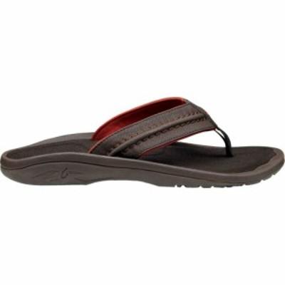 オルカイ Olukai メンズ ビーチサンダル シューズ・靴 Hokua Flip Flop Dark Java/Dark Java