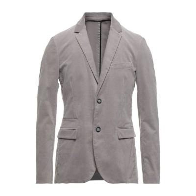 パオロ ペコラ PAOLO PECORA テーラードジャケット グレー 48 コットン 97% / ポリウレタン 3% テーラードジャケット