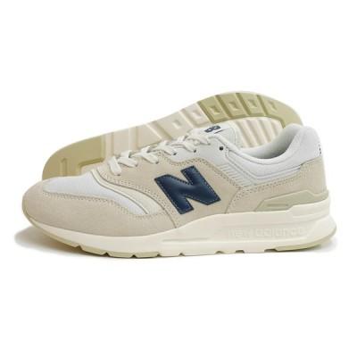 new balance(ニューバランス)CM997H BP(ホワイト/ネイビー) スニーカー メンズ レディース ユニセックス 運動靴 Dワイズ  白 生成り