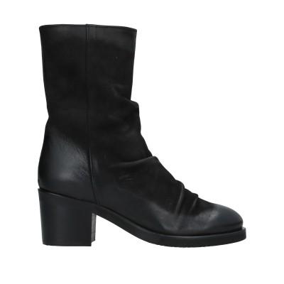 N'SAND® ショートブーツ ブラック 36 革 ショートブーツ