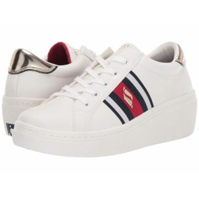 スケッチャーズ レディース スニーカー シューズ Goldie Hi - Hi Collegiate Cruiz White/Red/Navy