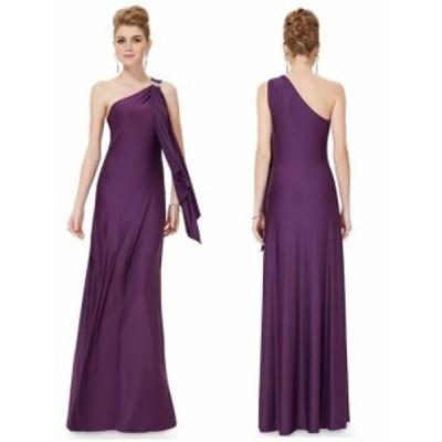 メンズを誘惑フェロモン放出!セクシーなワンショルダーデザインロングドレス 黒紫青 longer longsexy longtyte longstre