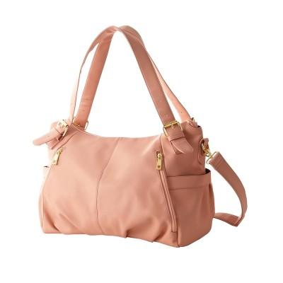 持ち手の長さ調節可能な2WAYトートバッグ(A4対応)(ベルト2本組) トートバッグ・手提げバッグ, Bags
