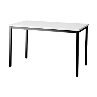 ●送料・組立・設置が無料  SOT−1275−PK−W/B PKテーブル W1200天板ホワイト脚ブラック kaf008343 4699-4080
