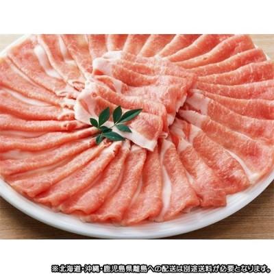 お歳暮 冬 ギフト 鹿児島黒豚 豚肉 お肉 しゃぶしゃぶ用 ロース400g 贈物 ご贈答 六白 送料無料 一部地域除く