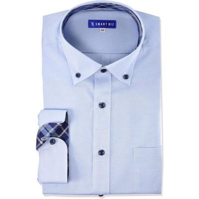 スマートビズ スマシャツ七分袖 Yシャツ ワイシャツ クールビズ 形態安定 EMR01000 七分袖 メンズ 七分袖ワイシャツ ショートBD