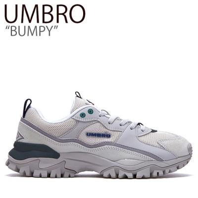 アンブロ スニーカー UMBRO メンズ レディース BUMPY バンピー ダッドシューズ GRAY グレー FLUMAA1U03 シューズ