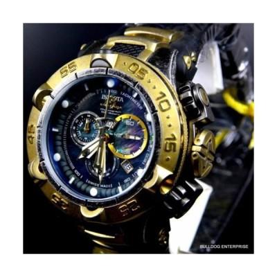 腕時計 インヴィクタ Invicta Subaqua Noma V Industrial Distressed Swiss Made Gold Black MOP Watch New