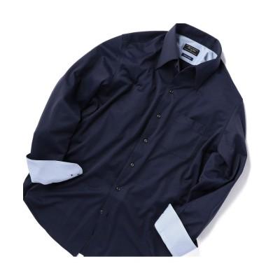 【メンズビギ】 ジャージービジネスシャツ メンズ ネイビー 04(LL) Men's Bigi
