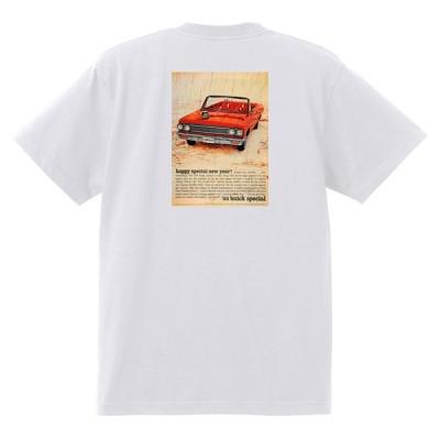 アドバタイジング ビュイック 白237 Tシャツ 1962 リビエラ ルセーブル ワイルドキャット gs350 スカイラーク