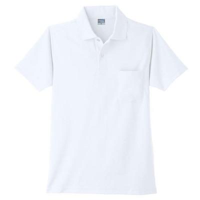 ワークウェア・作業用ポロシャツ 小倉屋 DRYシリーズ DRY 半袖ポロシャツ ホワイト 9006-90-EL 1枚(直送品)