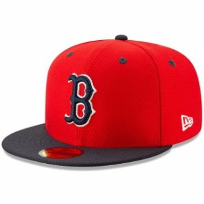 New Era ニュー エラ スポーツ用品  New Era Boston Red Sox Red/Navy 2019 Batting Practice 59FIFTY Fitted Hat