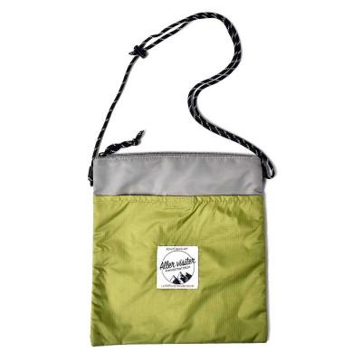 イディット IEDIT 手ぶら感覚でアクティビティーにもふだんにも使える収納自慢のサコッシュバッグ (グリーン)