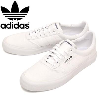 adidas (アディダス) B22705 3MC スニーカー フットウェアホワイトxフットウェアホワイトxゴールドメタリック AD063