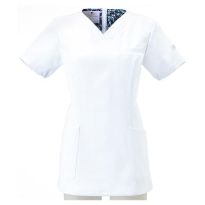 HI700 FOLK Wacoal レディススクラブ ナースウェア・白衣・介護ウェア